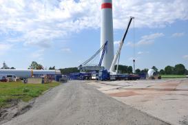 Baustellen-News vom Repowering-Projekt in Brest